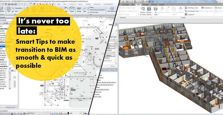 Smart Tips to make transition to BIM as smooth & quick as possible