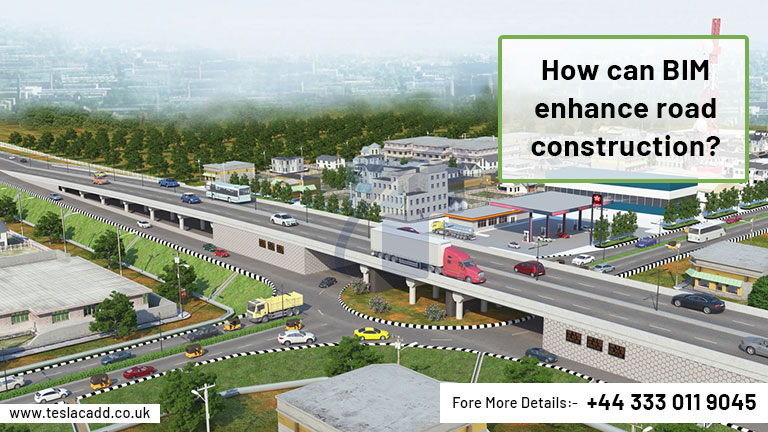 How can BIM enhance road construction