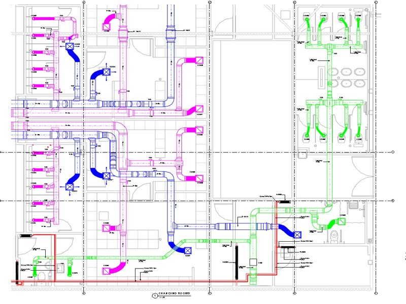 MEP Shop Drawing Services in UK & HVAC Shop Drawings Service