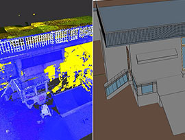 Point Cloud to BIM Portfolio